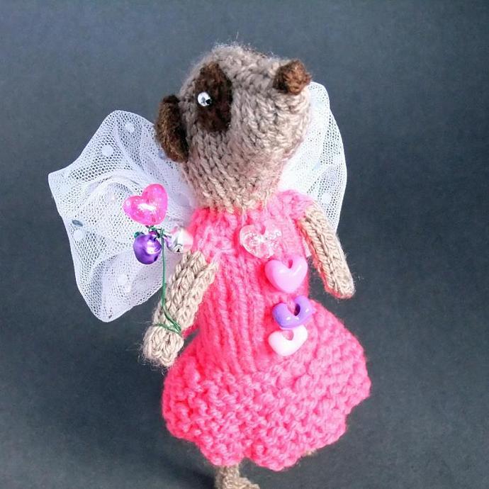 Meerkat Fairy pretty in pink!