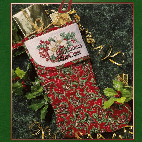 Christmas Aglow Cross Stitch Leaflet