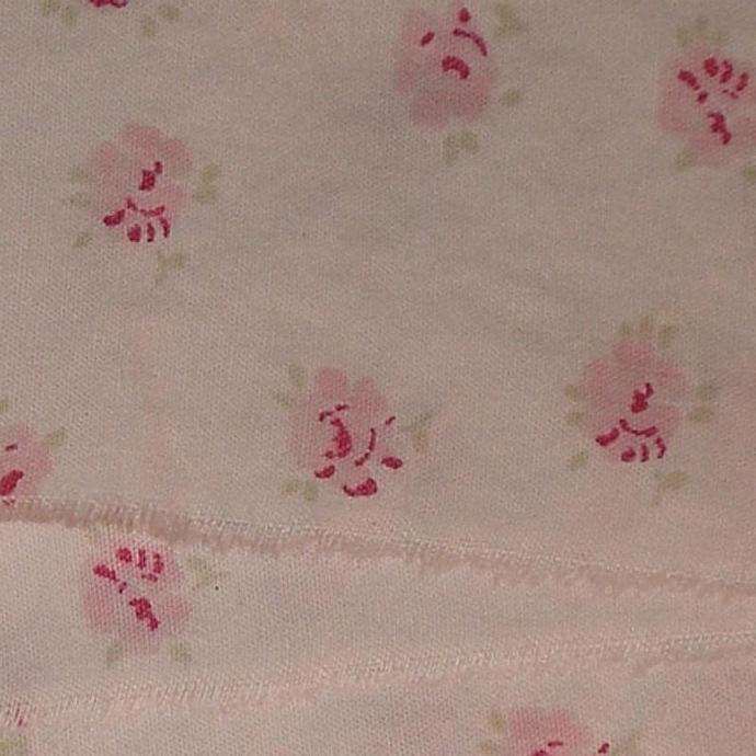 4 yards  birds nest pink roses birds nest,muslin Rachel Ashwell shabby chic