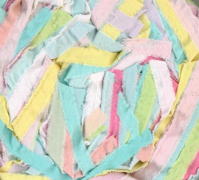24 yards handmade dyed seam binding Crochet Knit cotton skein half inch r785