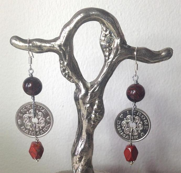 Jasper Kroner Earrings