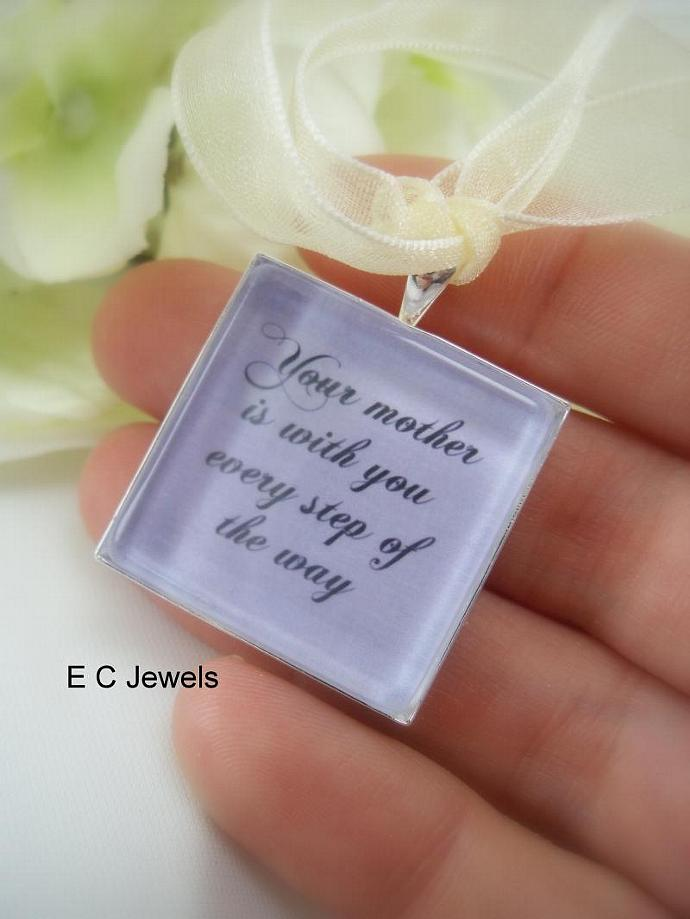 Memorial Keepsake Bouquet Charm