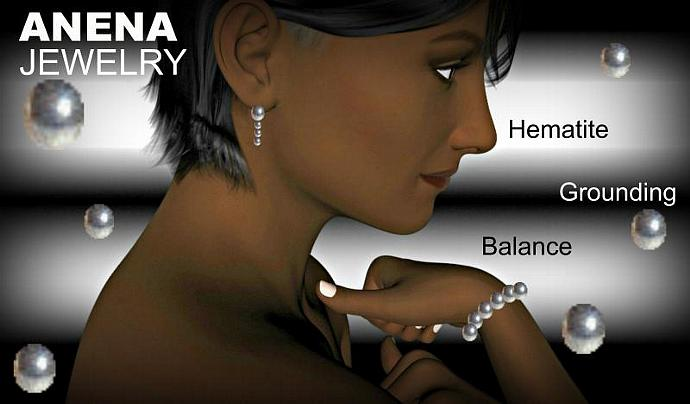 Mens Bracelet Buddha Hematite and Howlite Balance