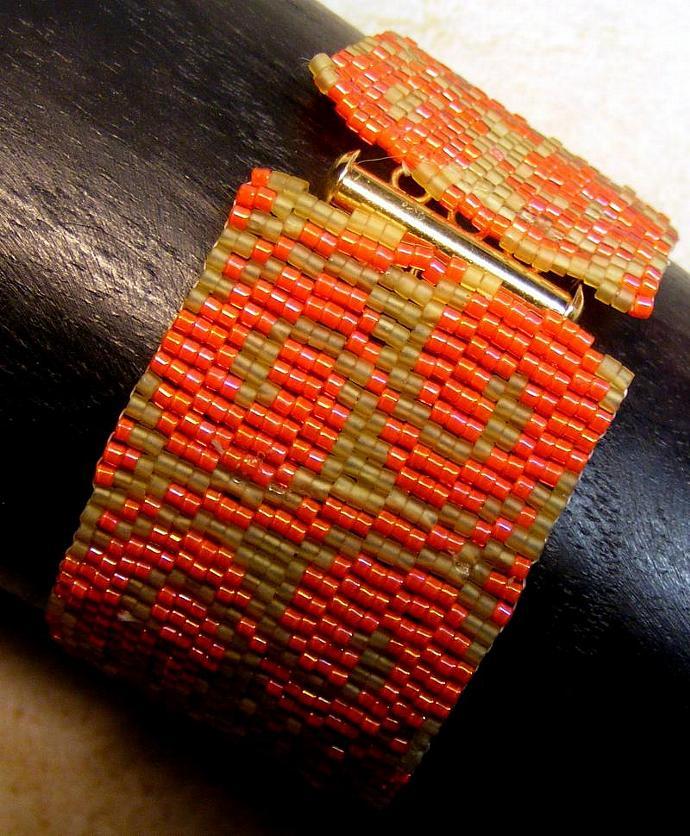 Dragon Flame Beaded Bracelet