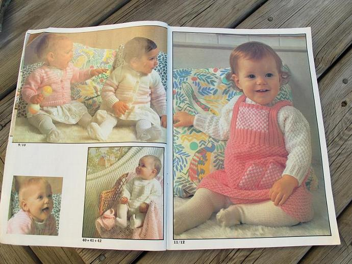 Sirdar Baby Plus No 108 / 42 designs for babies and children