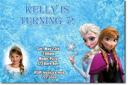 Frozen Olaf Birthday Party Invitations (Download JPG Immediately)