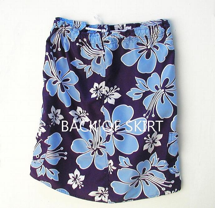 Beach Skirt Repurposed