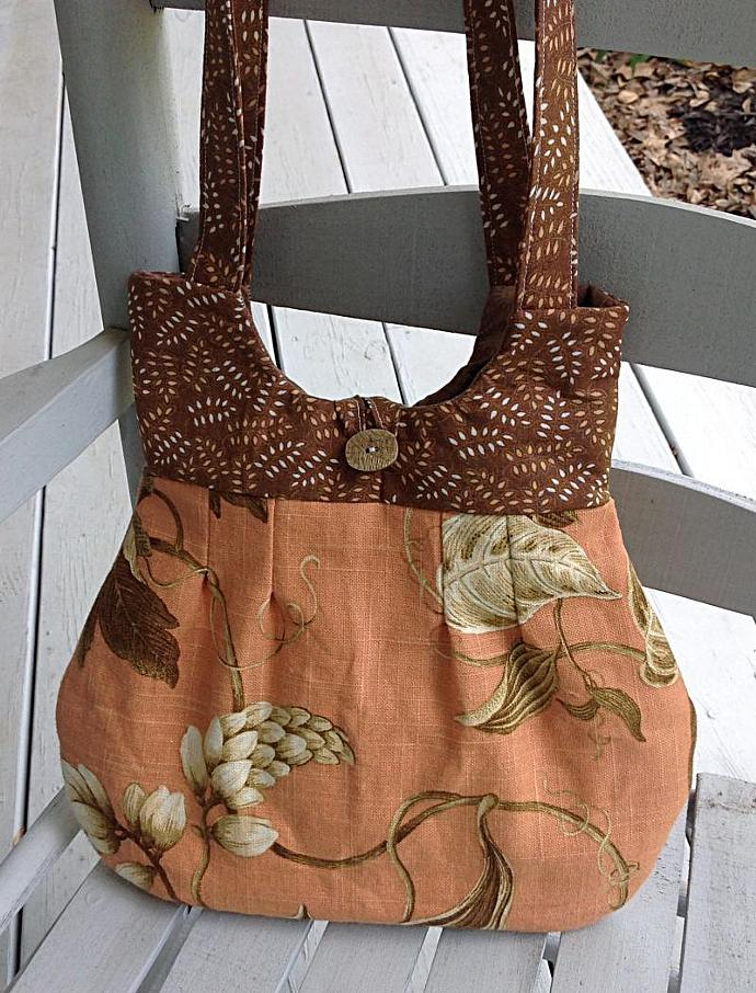Bags or purses, Purse or handbag, orange purse, floral purse, tote