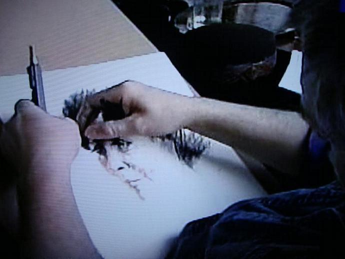 Sergey Cherkasov, artist