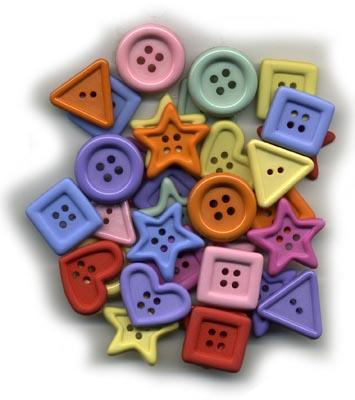 BU417B Novelty Buttons