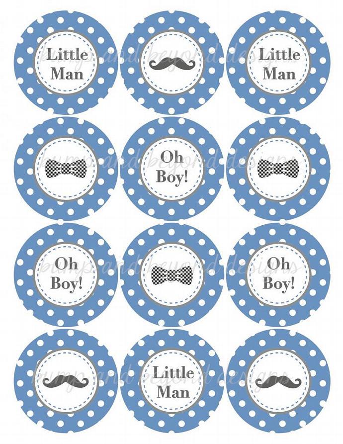Little Man Baby Shower Decorations Bumpandbeyonddesigns