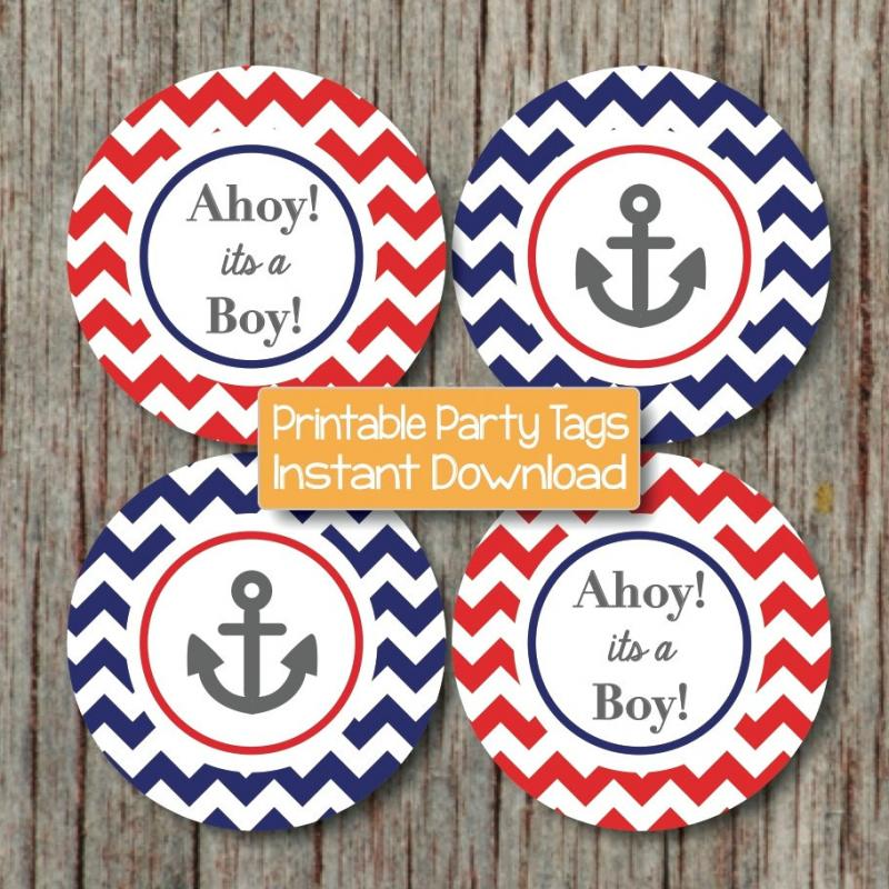 Nautical baby shower decorations bumpandbeyonddesigns for Baby shower nautical decoration