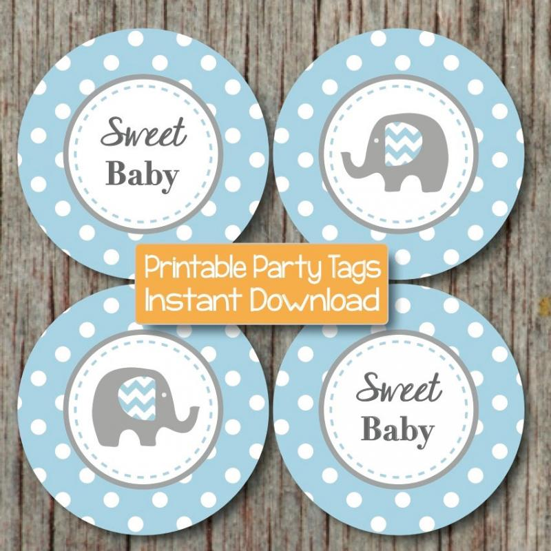 baby shower decorations elephant bumpandbeyonddesigns