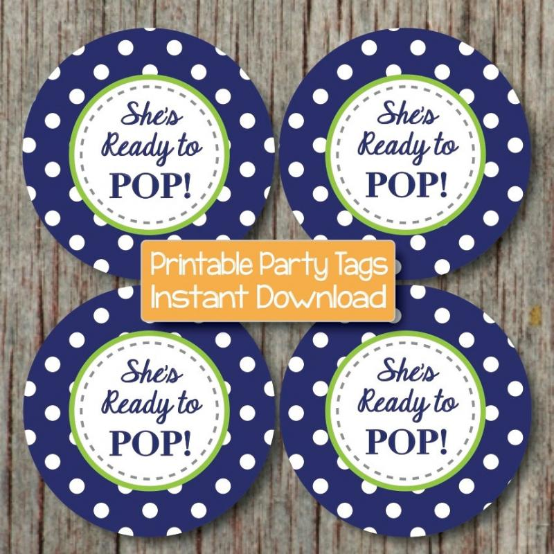 Baby shower decorations printable bumpandbeyonddesigns for Ready to pop labels template free