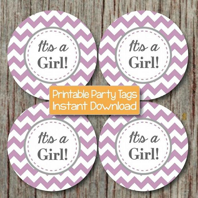 Baby Shower Cupcake Toppers Stickers By