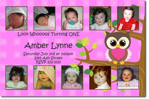 Look Whoos having a baby Invitation, Owl Baby Shower Invitations (Download JPG
