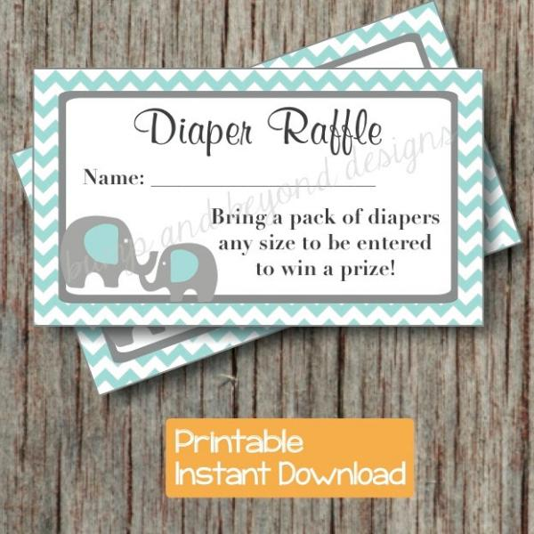 baby shower diaper raffle tickets bumpandbeyonddesigns
