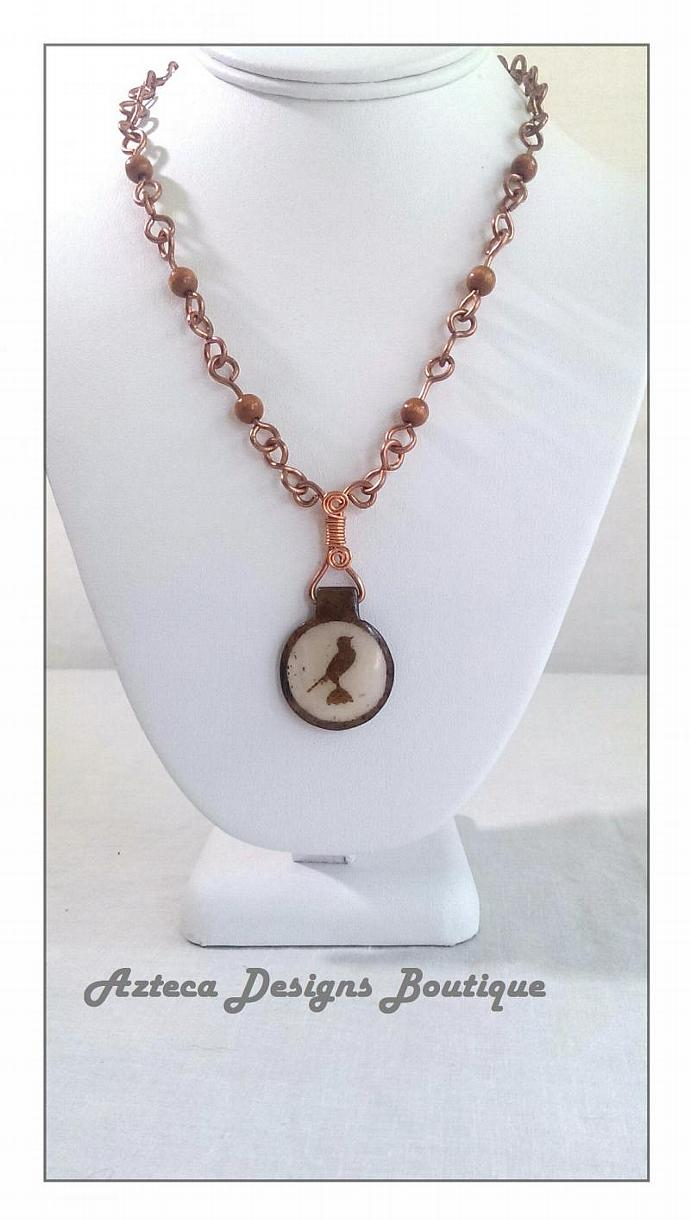 Song In Your Heart Hand Forged Necklace