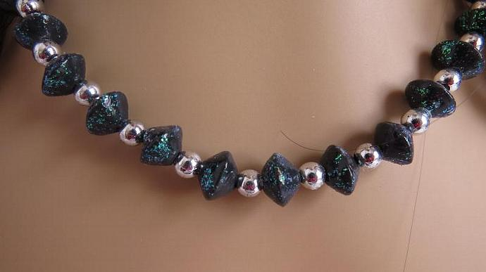 Cold Porcelain Beaded Necklace