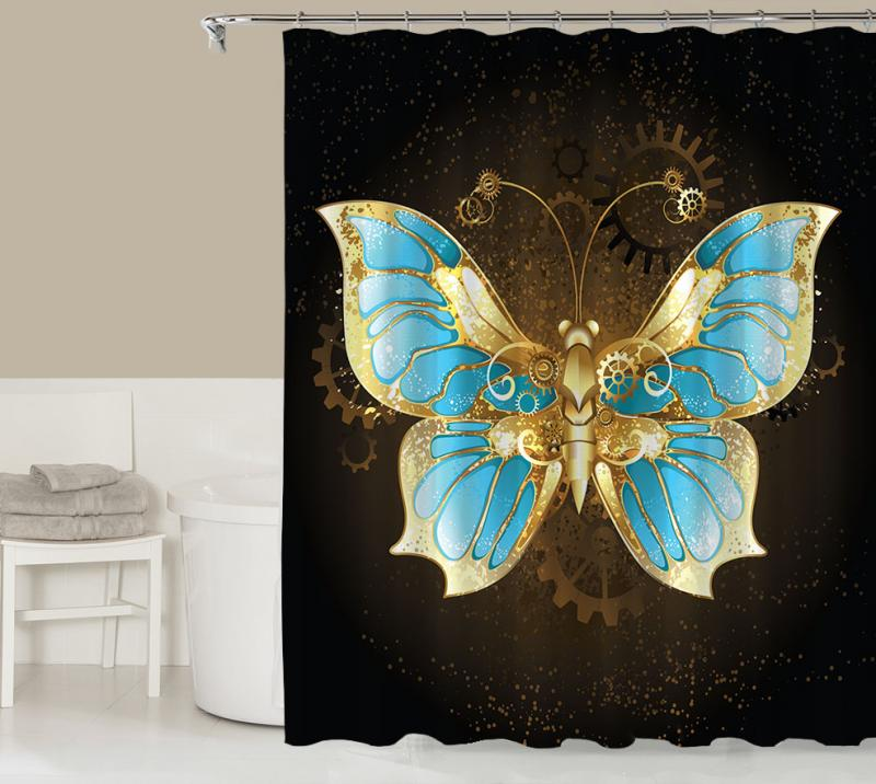 - Fantasy Shower Curtain, Contemporary Bathroom Codysloft