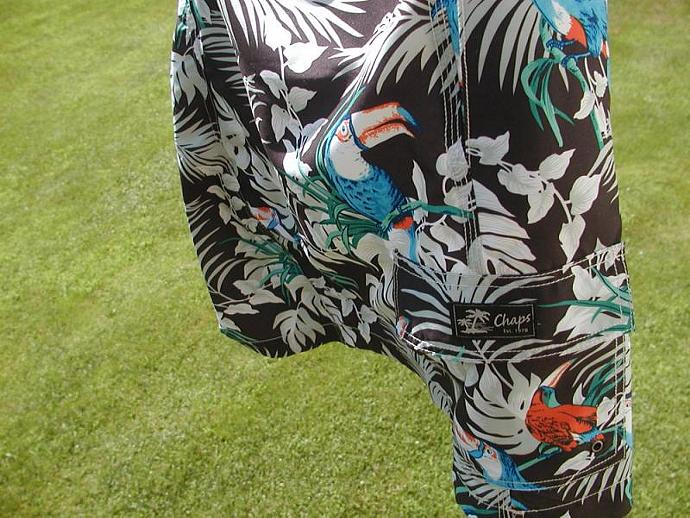 Tropical Toucan Beach Skirt Ladies XL