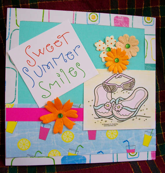 Sweet Summer Smiles card