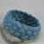 blue and green turks head sailor rope bracelet large 601