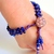 blue and purple dream bracelet