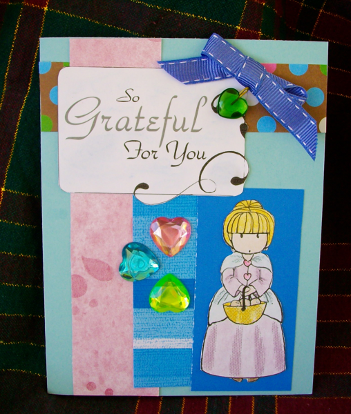 So Grateful For you card
