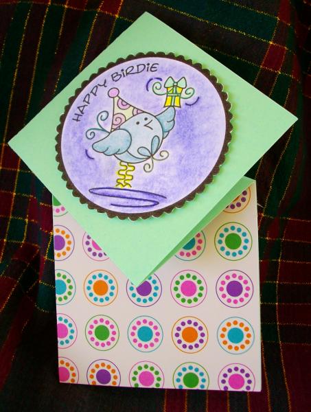 Happy birdie card