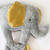 Elephant Lovey Blanket, Satin, Baby Blanket, Stuffed Animal, Baby Toy -