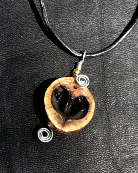 Eternal Love Hickory Heart Pendant Necklace