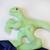 Velociraptor Security Blanket, Tyrannosaurus blanket, t rex blanket, Lovey