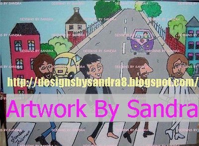 "Beatles Cartoon ""Abbey Road"""