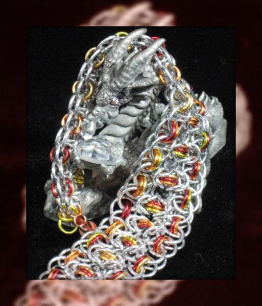 Inner Fire Chainmaille Bracelet