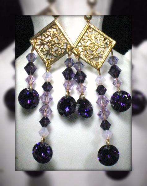 Amaranthine Earrings