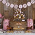 Cowgirl Theme HAPPY BIRTHDAY Banner Party Decorations, Cowgirl Birthday Banner,