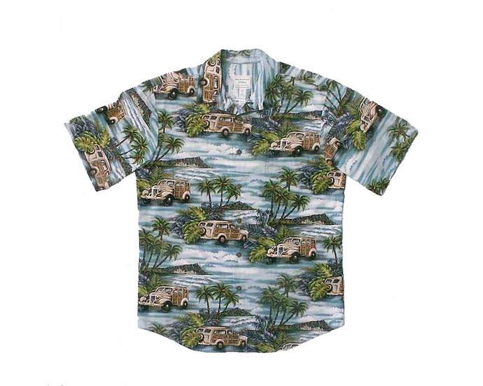 Woodies Aloha Shirt - Size M