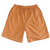 Orange Plaid Sleep Shorts