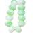 Seafoam- premium Czech glass gemstone beads