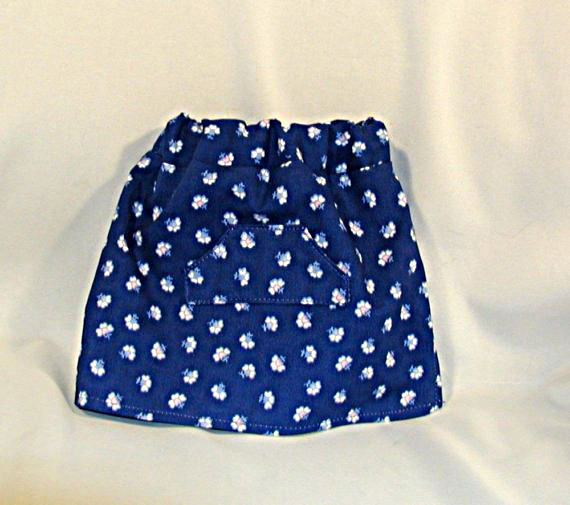 Doll's Skirt/Shorts and Blouse Set