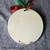 Merry Christmas tree large round ornament