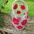 Vase Red Poppies