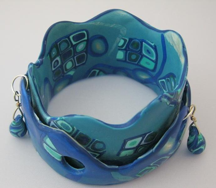 Blue Mod Bangle