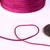 1mm purple mauve violet nylon cord - nylon thread - chineese Knotting Cord -