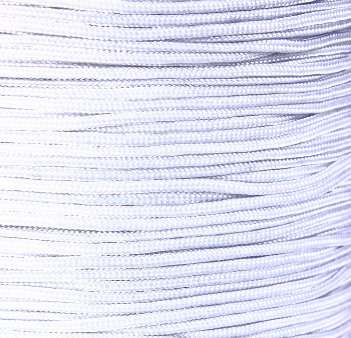 1mm Grey gray nylon cord - nylon thread - chineese Knotting Cord - Macrame