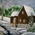 Winter Waterwheel Painting, fine art, original, realism, woodland, rustic,