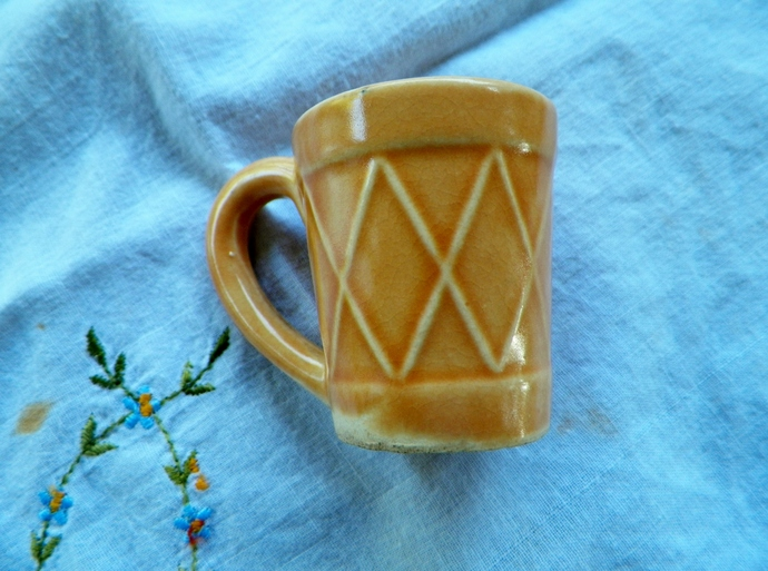 Gold Mini Vintage Cup Japan Made