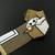 Bead loomed cat bracelet TinyCat in a Box - A HeatherCat