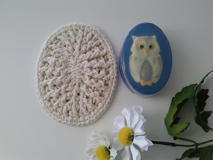 Crochet Soap Dish, Soap Mat, Soap Coaster by Custom Crochet
